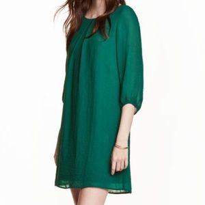 ‼️NWT Never worn‼️ H&M Teal Dress